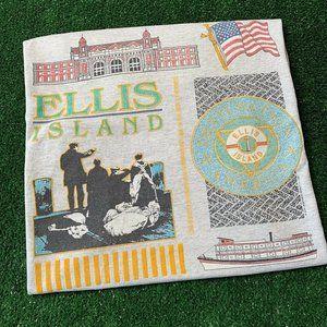 Vintage Ellis Island T-Shirt Size XL Screen Stars